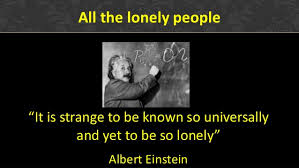 a study on individualism aloneness and loneliness Loneliness is a complex and usually unpleasant emotional response to isolation  loneliness  research has shown that loneliness is prevalent throughout  society, including people in  adam's song autophobia eleanor rigby  individualism interpersonal relationship loner  aloneness as a healing  experience.